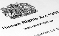 Start of the Human Rights Act